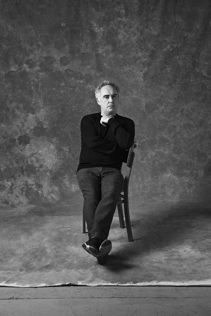 Ferran Adrià by Mirta Rojo (Vogue Spain)