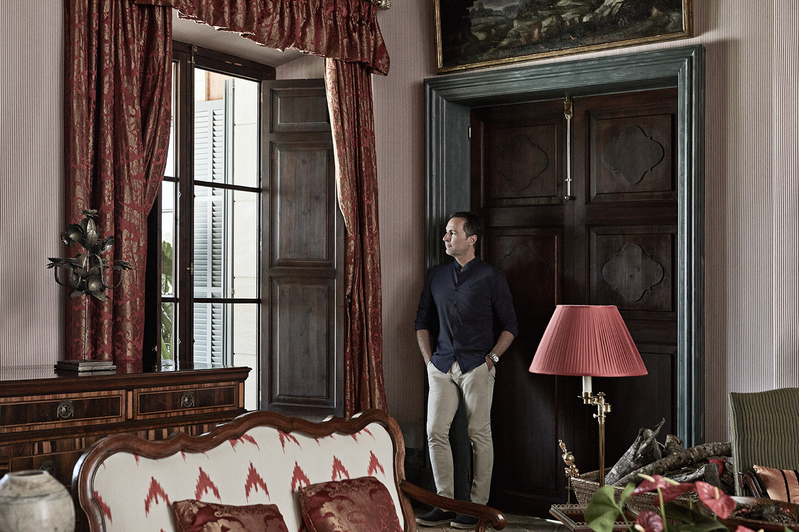 James Costos by Mirta Rojo (Vogue)