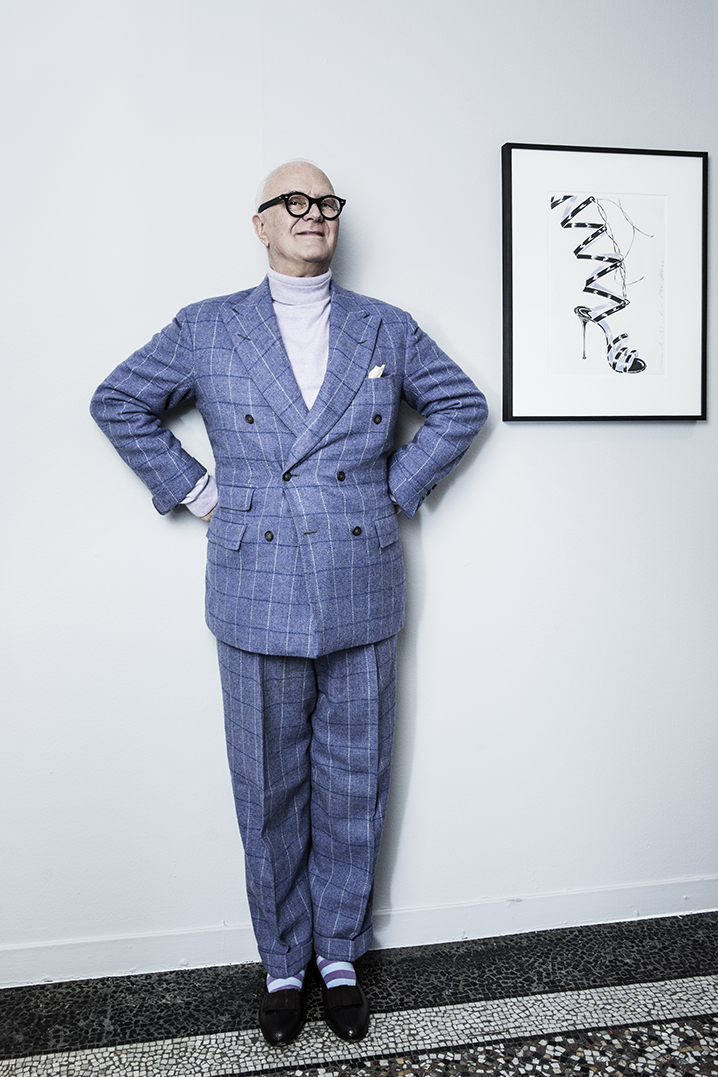 Manolo Blahnik by Mirta Rojo (Vogue Spain)