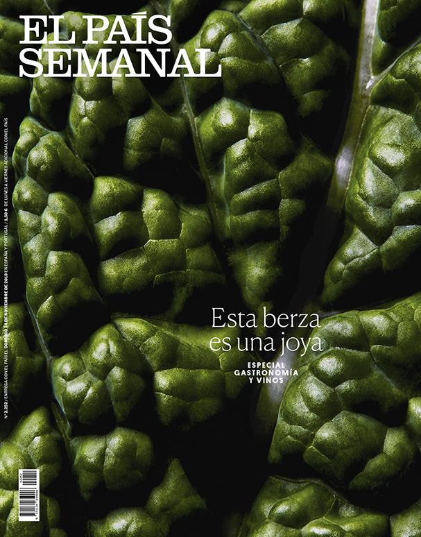El País Semanal, portada verduras 1 by Mirta Rojo