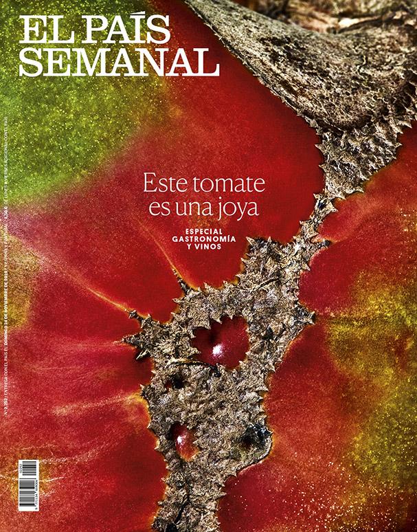 El País Semanal, portada verduras 2 by Mirta Rojo