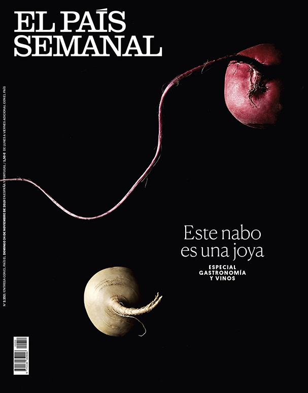 El País Semanal, portada verduras 3 by Mirta Rojo