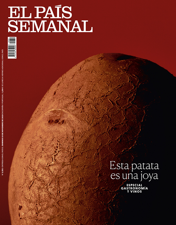 El País Semanal, portada verduras 4 by Mirta Rojo