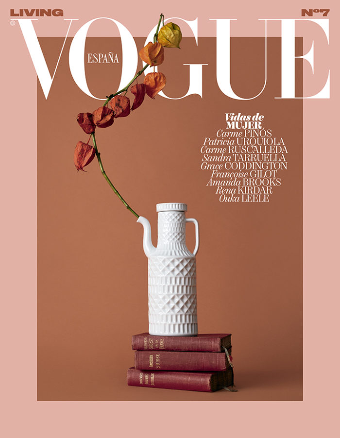 Portada verano Vogue Living Spain by Mirta Rojo