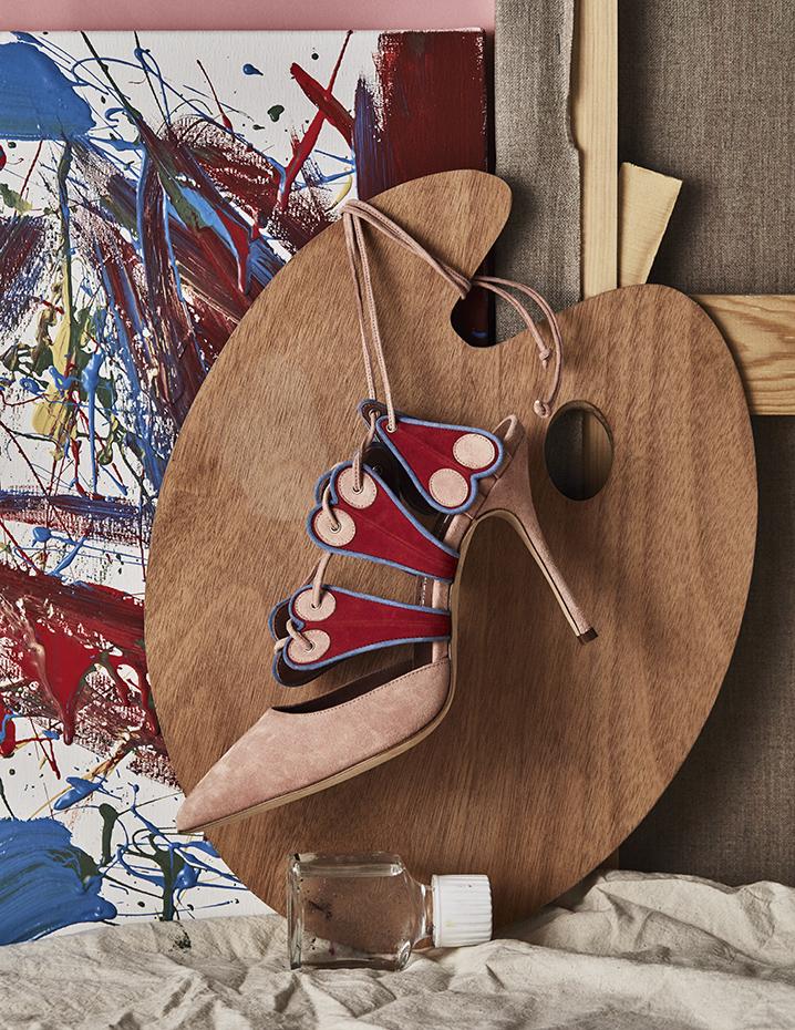 Bodegón zapatos by Mirta Rojo (Vogue Livin Spain)